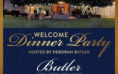 You're Invited: Welcome Dinner Hosted by Butler RSVP